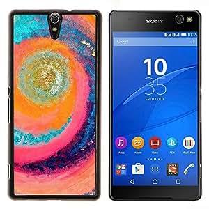 - art wave surfing summer sun rad sea/ Duro Snap en el tel??fono celular de la cubierta - Cao - For Sony Xperia C5 Ultra
