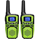 Retevis RA15 Walkie Talkies,Small Long Range Walkie Talkies for Adults,Portable Two Way Radios with NOAA Weather Alert for Fa