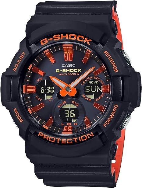 Reloj CASIO® Policía Nacional Sumergible Esfera Azul Oscuro Cadena Metálica Acero: Amazon.es: Relojes