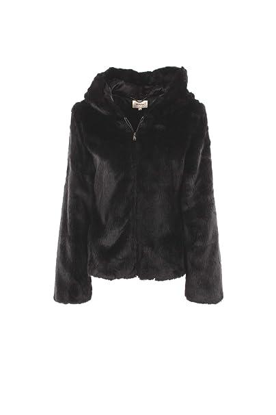 KOCCA Ecopelliccia Donna S Nero Wellas Autunno Inverno 2018 19  Amazon.it   Abbigliamento 20050e2dfc5