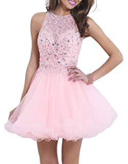 Venus Bridal Womens Homecoming Dress Juniors Short Prom Dress for Teens Short Party Dress