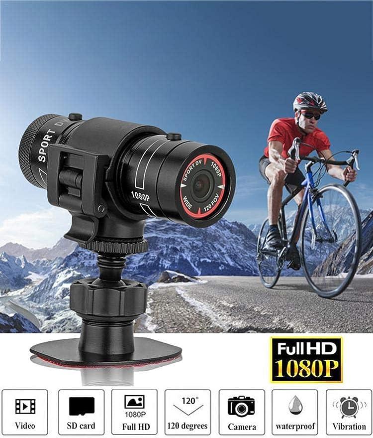 longrep Cámara De Moto Camara Grabacion Continua Full HD 1080P ...