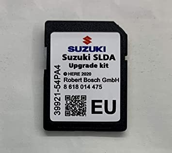 Suzuki SLDA 2020-2021 - Navegador GPS con tarjeta SD: Amazon.es: Electrónica