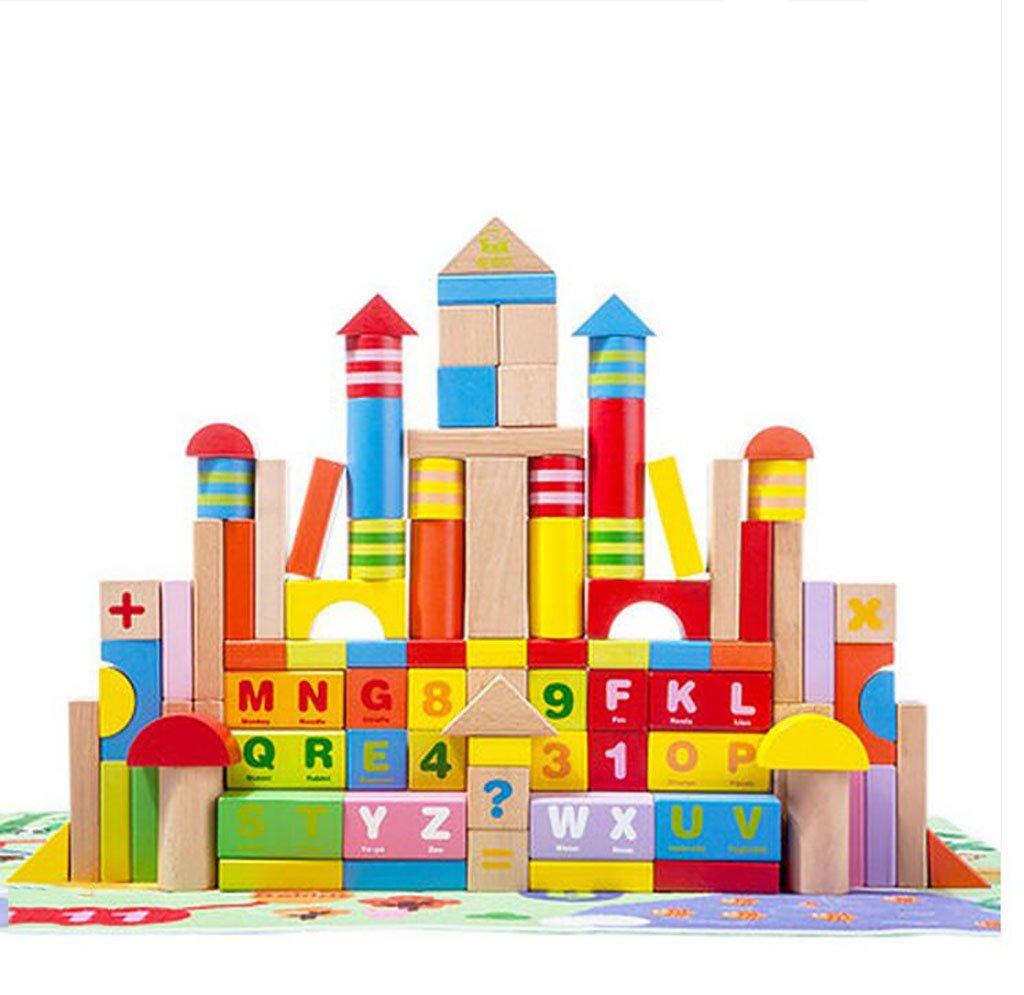 Giocattoli Combinazione per Bambini a Mano Cervello Giocattoli educativi, Bambini Puzzle Building Blocks digitali, Bambini Puzzle Building Blocks in Legno Inteligente ( Colore   Digital )