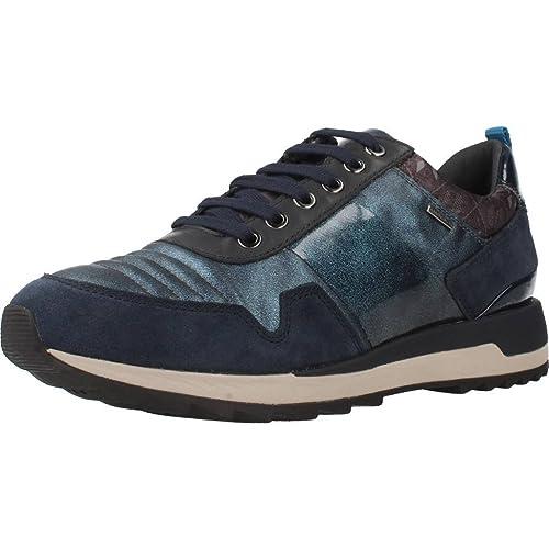 Geox D Aneko B ABX A, Zapatillas para Mujer: Amazon.es: Zapatos y complementos