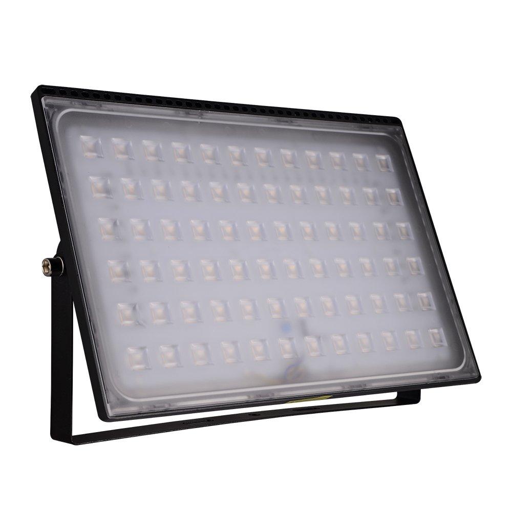 Foco proyector LED 10W 20W 30W 50W 100W 150W 200W 300W 500W para exteriores, resistente al agua IP65, luz de seguridad,IP65 Impermeable,Diseño ...