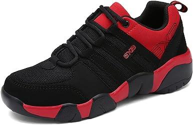Gracosy Zapatos de deporte para hombres y mujeres, ligeros, transpirables, de malla para deportes de calle y caminar zapatos informales
