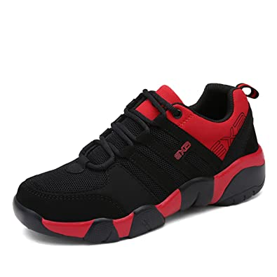 Sportschuhe, Herren Damen Sneaker Turnschuhe Unisex Laufschuhe Straßenlaufschuhe Freizeitschuhe Hallenschuhe Gelb-Blau 44 Gracosy