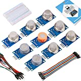 Emakefun MQ Gas Sensor Module Kit with Tutorial for Arduino UNO R3 MAGA 2560 Nano