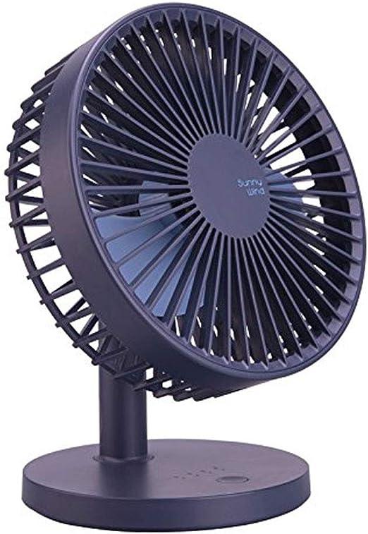 QPECD Mini Ventilador de Mesa oscilante de Aire, pequeño ...