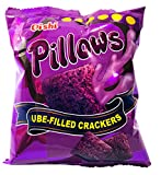 Oishi Pillows Ube Filled Crackers,1.34 Ounce Pack of 10