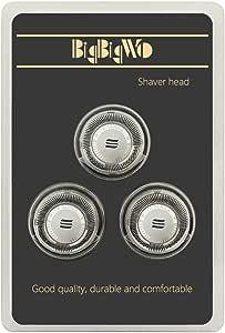 BigbigWo 3 piezas Cabezal de Afeitado Reemplazo para Philips ...