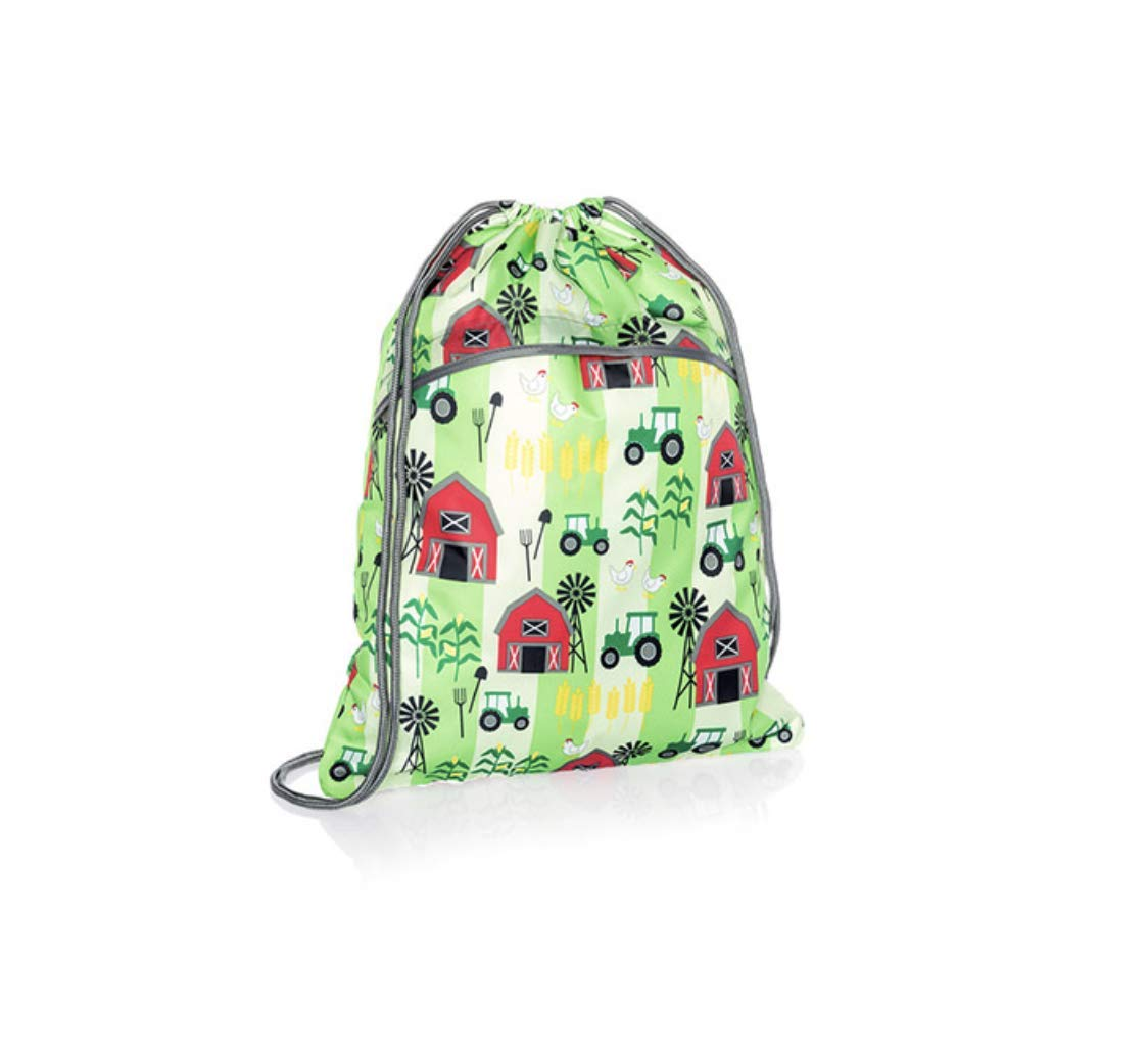 Thirty One Cinch Sac in Limited Edition Print Farm Fun - No Embroidery - 3039
