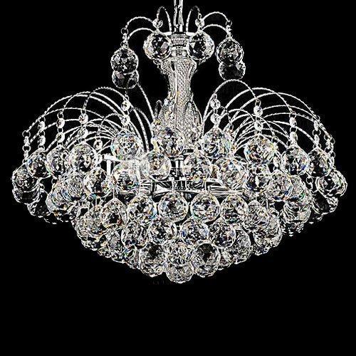 3 Light Crystal Ball Pendant Chandelier
