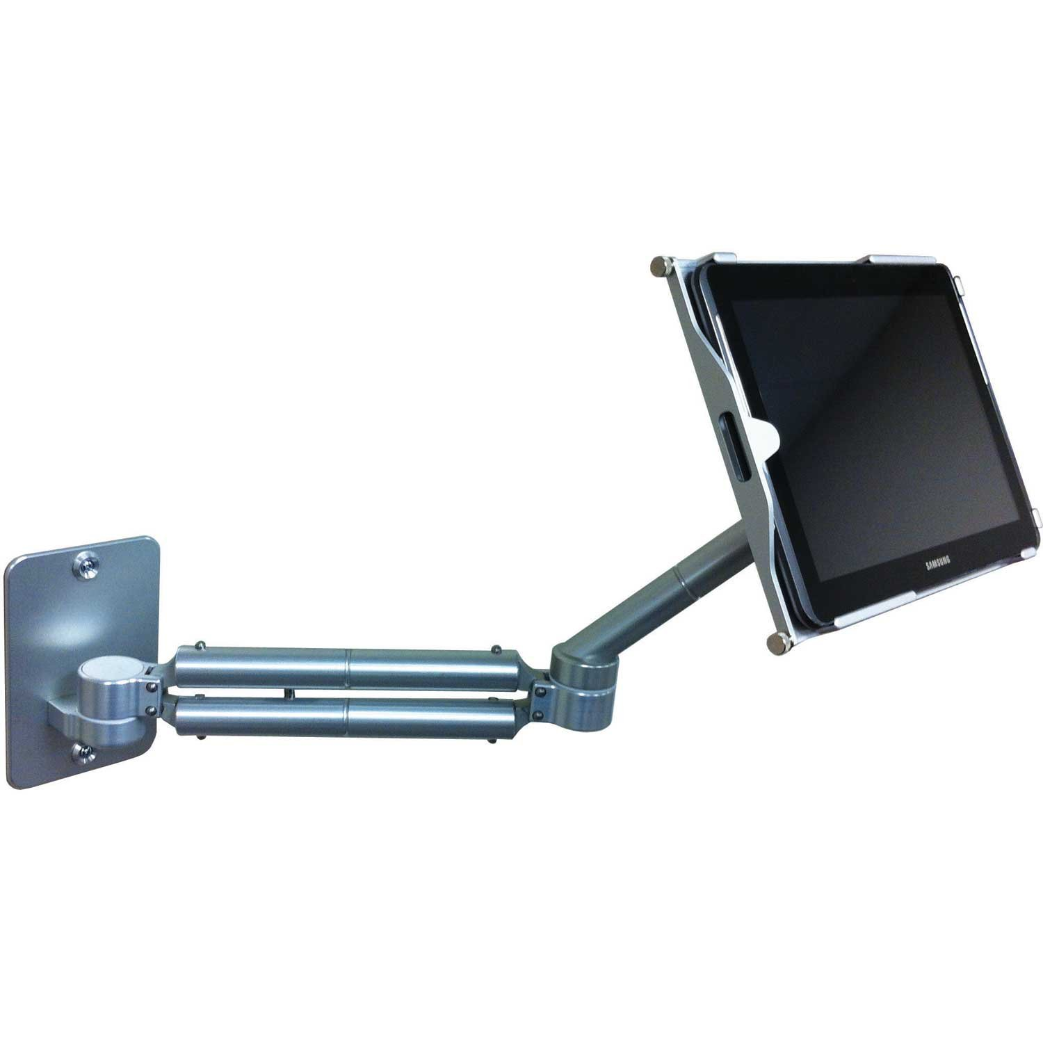Tablet Lift Through Desk Mount For 10-inch Samsung Galaxy Tab 2 with Secure Holder