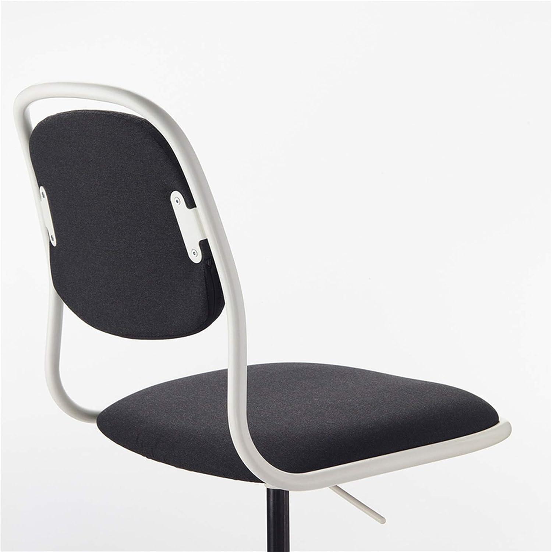 LYJBD kontorsstol, rullande svängbar stol, nät skrivbord uppgift stol, nät hög rygg, justerbar svängbar rullning, för vuxna och barn BLÅ