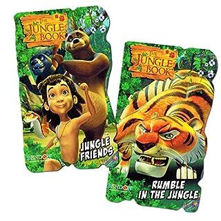 Disney Baby Toddler Board Books - Set of 2 (Jungle Book)