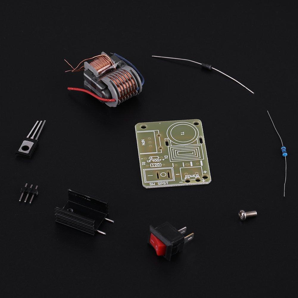 Zerone 2 Sets DC 3.7V ~ 4.2V a 15KV Generador de Impulsos de Alto Voltaje Inversor Transformador Bobina de Encendido M/ódulo de Potencia Desmontado