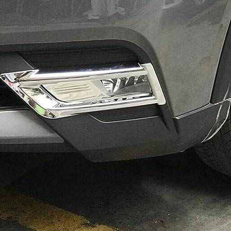 Amazoncom Kadore Front Fog Light Lamp Trim Cover Abs Chrome For