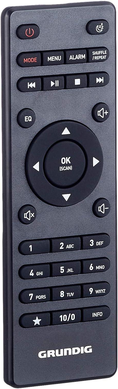 Radio Todo en uno GRUNDIG DTR 6000 X Color Negro