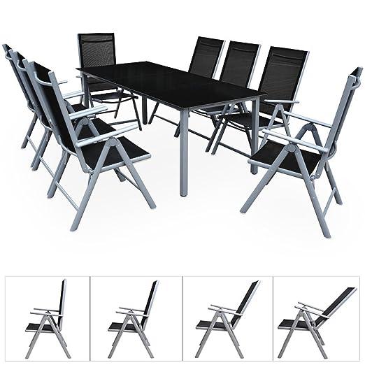 Tavoli Da Giardino In Alluminio Pieghevoli.Ld 8 1 Sedie Da Giardino In Alluminio Per Esterno Arredo