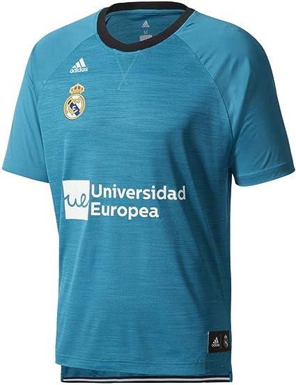 adidas RM SS Shooter - Camiseta Línea Real Madrid FC Hombre: Amazon.es: Ropa y accesorios