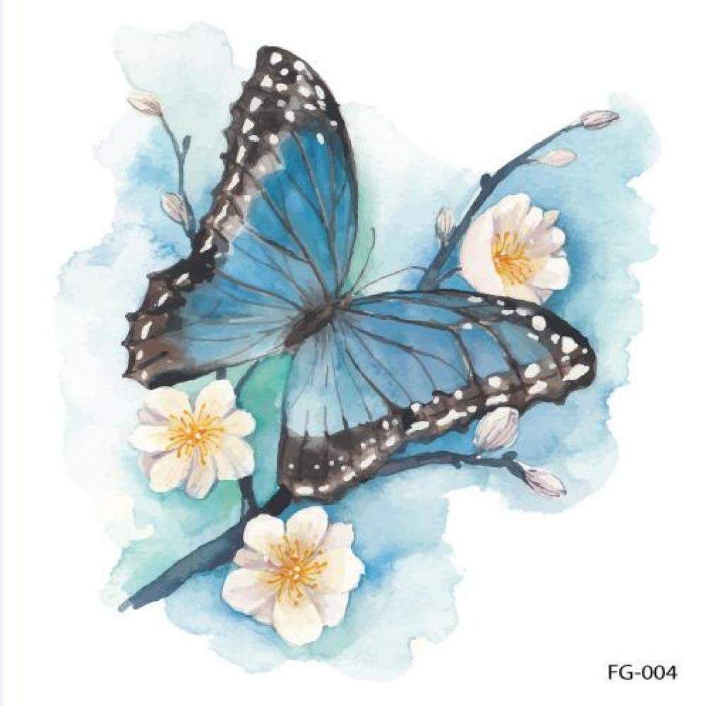 adgkitb 5piezas Colorido Tatuaje de libélula de Brillo de Arte ...