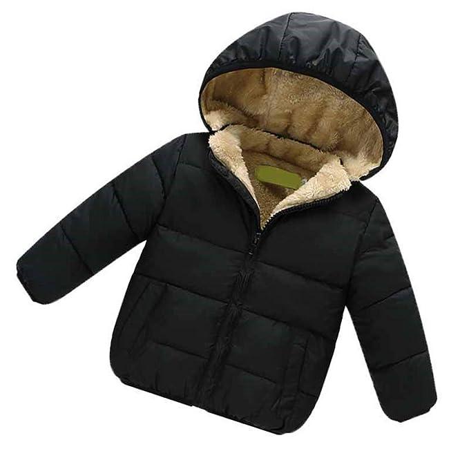 Comradesn Bebé Chaquetas y Abrigos Chaqueta de Abrigo para niños pequeños para niños pequeños para niños Ropa de Abrigo Ropa Casual para niñas bebés Otoño ...