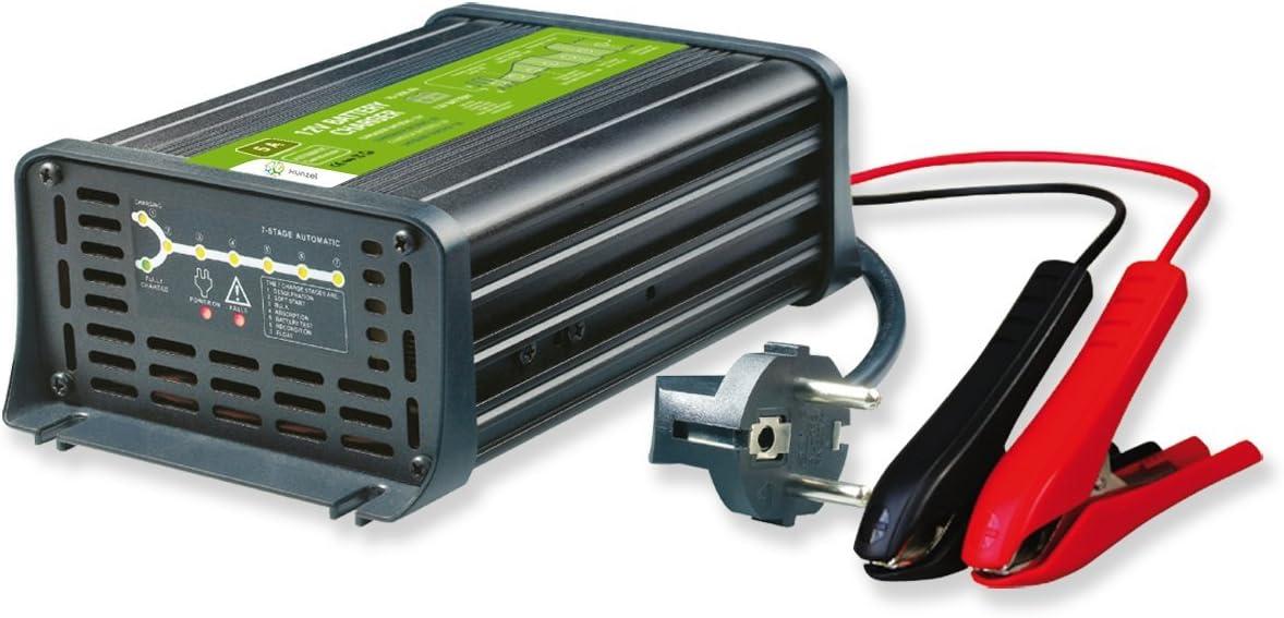 XUNZEL - Cargador Baterias Plomo 12V 10A/70-200Ah
