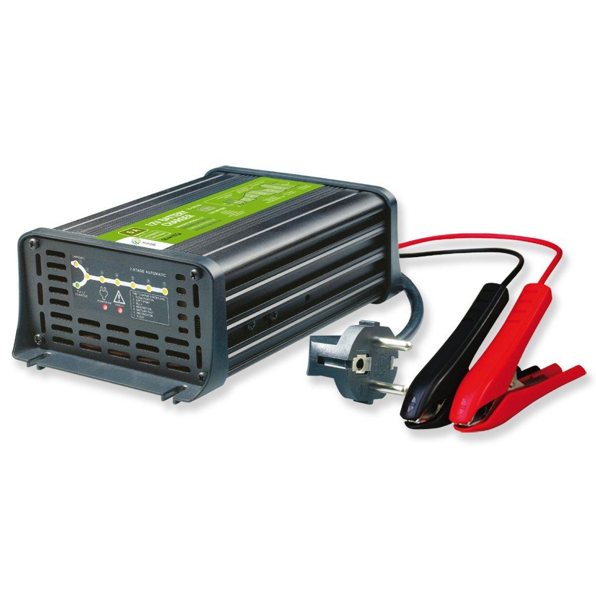 XUNZEL - Cargador Baterias Plomo 12V 10A/70-200Ah DBC1210