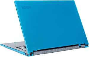 "mCover Hard Shell Case for 13.9"" Lenovo Yoga C930 Series (NOT Fitting Older Yoga 900/910 / 920) multimode Laptop Computer (Yoga-C930 Aqua)"