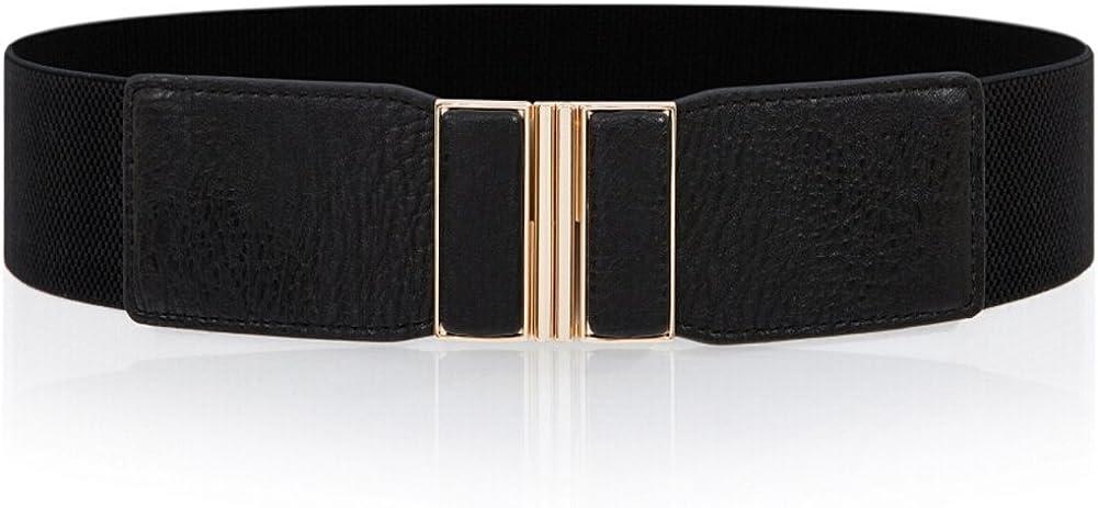 Simple Fashion Belts//Elastic Decorative Girdle Joker-Black 60cm 24inch
