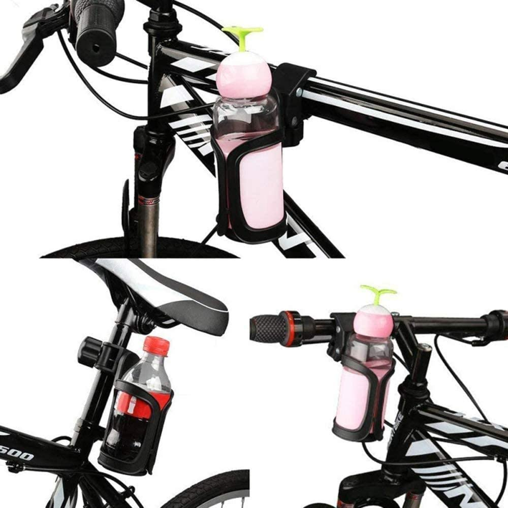 Motorcycle Cycling Bicycle Handlebar Baby Stroller Bottle Cup Holder Mount Cage~