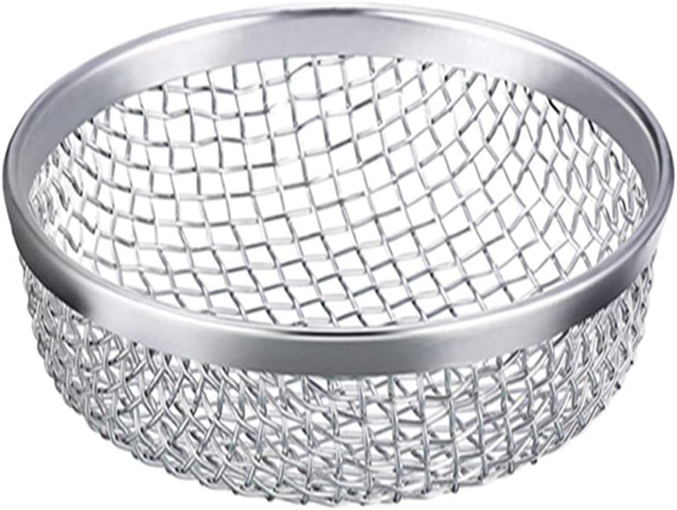 Honeytecs Stainless Steel Flying Insect Screen RV Furnace Vent Cover Mesh with Installation Tool