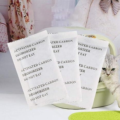 Zhichu - Desodorante para Arena de Gato, Filtro de carbón Activado