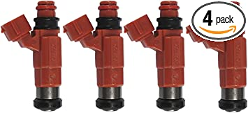 4x Fuel Injector Flow Matched 68V-8A360-00-00 for Yamaha Outboard 115 HP Marine