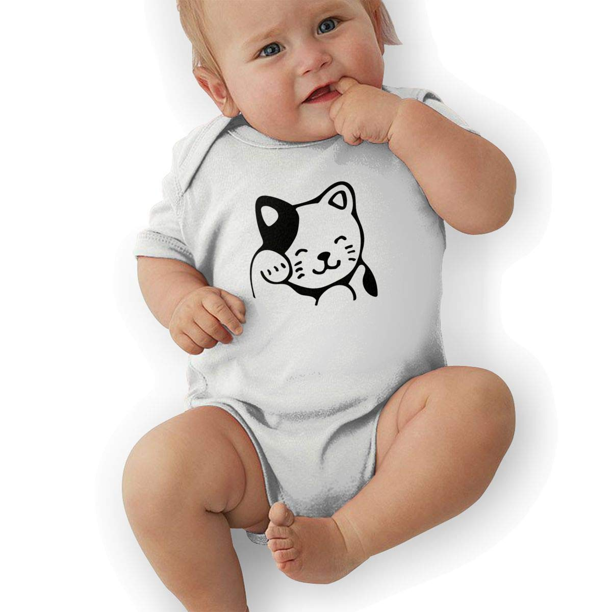 Lucky Cat Baby Onesies Toddler Baby Girl//Boy Unisex Clothes Romper Jumpsuit Bodysuit One Piece