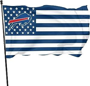 Stockdale Buffalo Bills Garden Flag Champion Banner Garden Decoration 3x5 FT