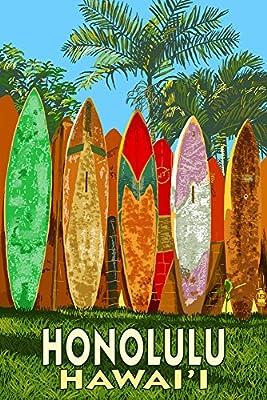 Surf Board Fence - Honolulu, Hawaii