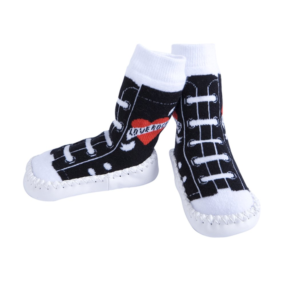 Slippers Rock /& Roll Love Rocks Jazzy Toes 6-12M