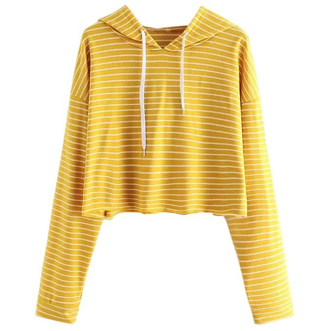 bb54019a63904 Manadlian Damen T-Shirt Gelb Mode Frau Beiläufig Planet Gedruckt ...