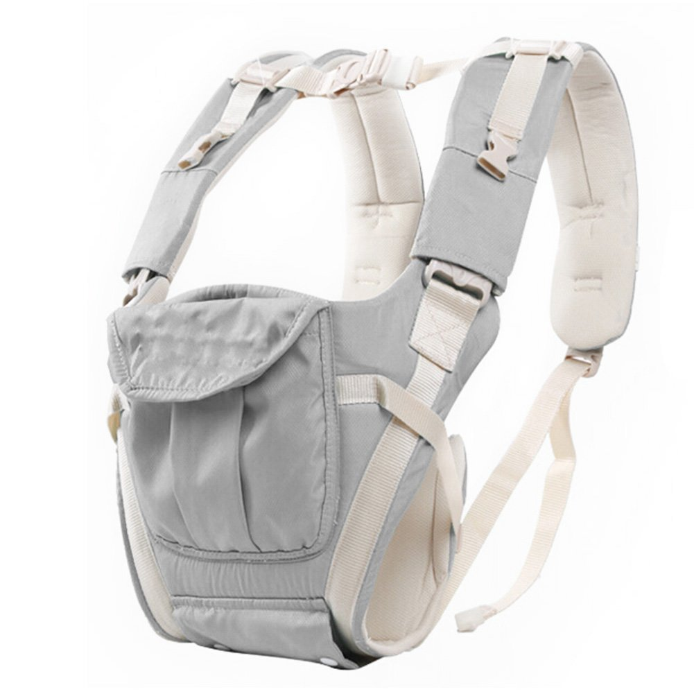 Multifunctional Baby Carrying Strap Carrier Waist Hipseat Stool Seat Sling Strap 360/°Ergonomic Baby /& Child Carrier Backpack Baby Carrier Pouch Bag Front and Back gray