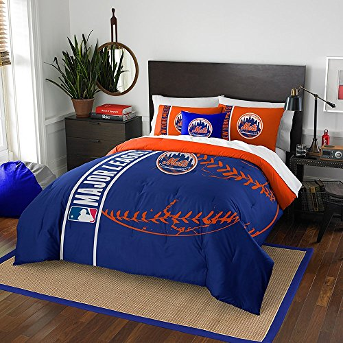 Mlb Comforter - Northwest New York Mets MLB Full Comforter Set