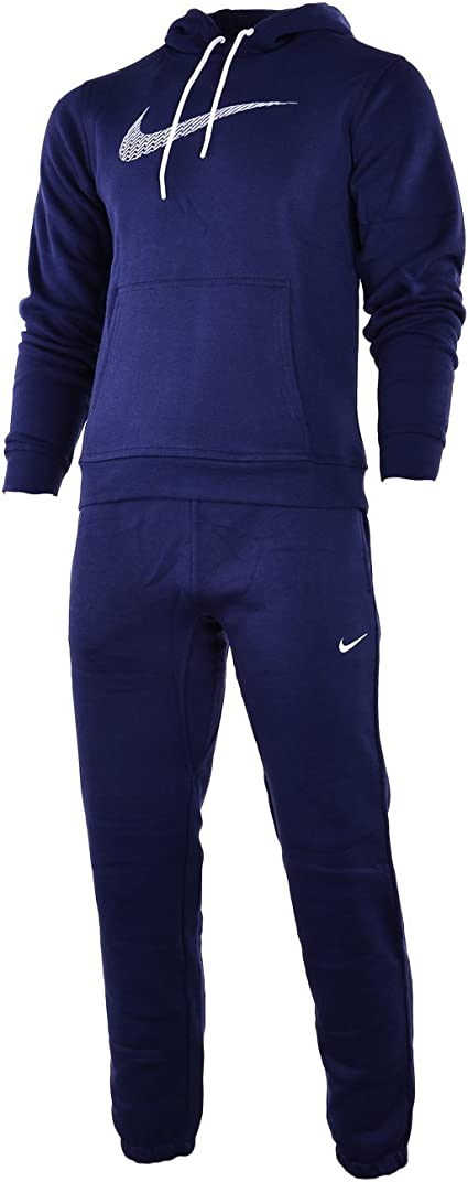 Nike Negro De Hombre 679387 Chándal Completo - Azul Marino, Small ...