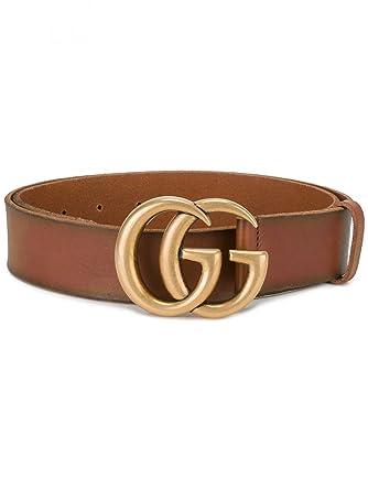 gran descuento be43b 8a2e6 Gucci - Cinturón - para mujer Marrón marrón 18: Amazon.es ...