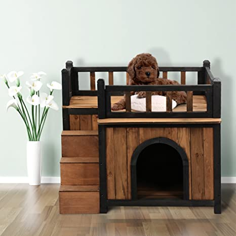 finether caseta para perros gran casa de exterior y de ...