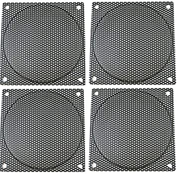 Guard 120mm Black Steel Computer Case Fan Mesh Grill Filter Medium Hole