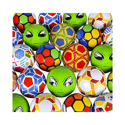 48 Pc 9'' Soccer Ball Assortment (With Sticky Notes) by Bargain World