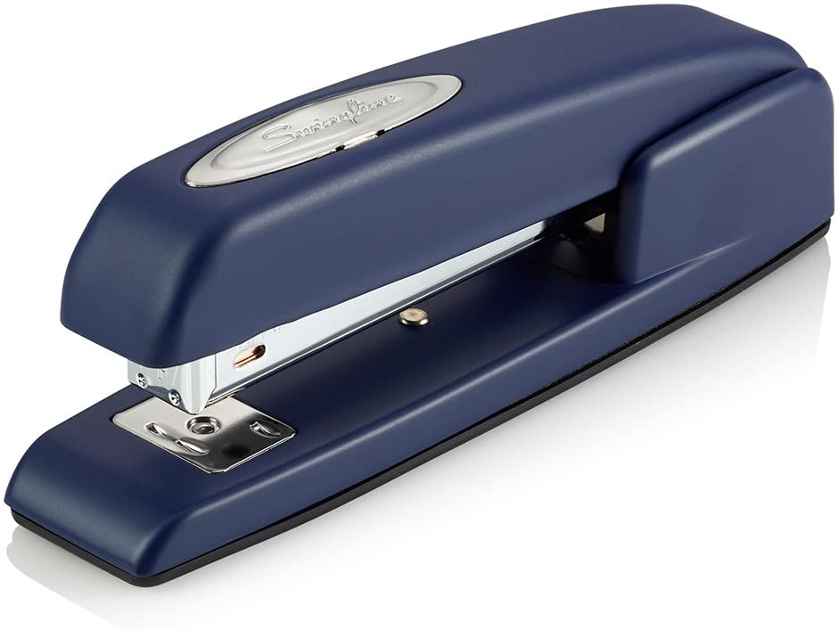 Swingline Stapler, 747 Iconic Desktop Stapler, 25 Sheet Capacity, Royal Blue (74729)