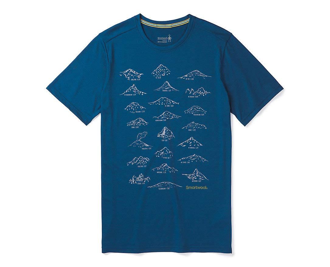 Smartwool Herren Merino Sport Tee 150 Prominent Peaks Tee Sport T-Shirt b55a69